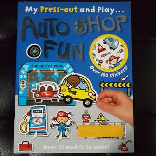 Activity Book - Press Out Sticker Book
