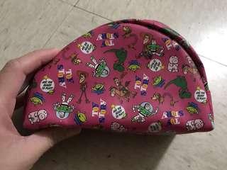 Toy Story 粉紅色筆袋