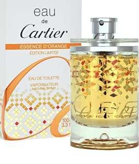 🚚 🍊Cartier Eau de Cartier Essence d'Orange 橙香精粹限量版100ml