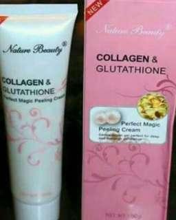 Collagen and Glutathione peeling cream