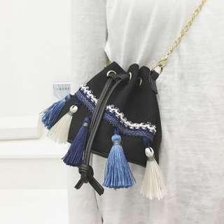 Bohemian Tassel Sling Bag