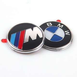 BMW STEERING WHEEL Emblem Sticker 45mm Adhesive 1 3 5 6 7 8 Series Z3 Z4 X5   Also for BMW Moto K25 (HP) / R13 ( F 650 GS , GS Dakar ) / R28 ( R 850 R , R 1150 R , Rockster )