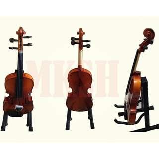 Mozart 4/4 Violin (Natural Glossy) 5-piece Set