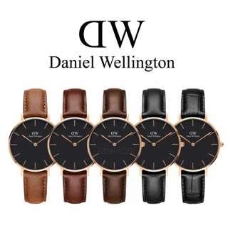 ✅ [INSTOCK] Genuine Daniel Wellington Petite Classic Black&White 28/32/36/40mm