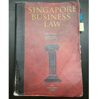 NTU NBS AB1301 Singapore Business Law Textbook