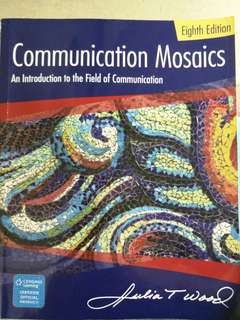 Communications Eighth Edition Introduction to Field of Communication