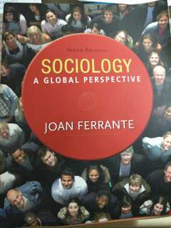 Sociology A Global Perspective Ninth Edition by Joan Ferrante