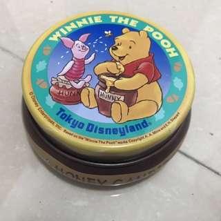 (正版)小熊維尼Winnie the pooh鐵盒/收納盒