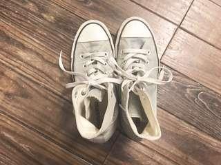 🚚 Converse All star 高筒水洗牛仔布帆布鞋