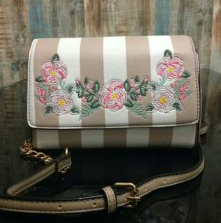 ALDO Stripped Flowery Crossbody Bag #ramadan50