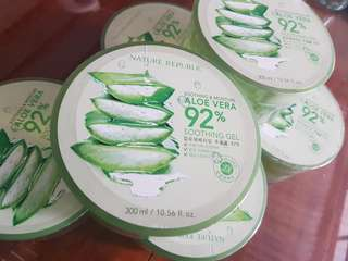 Nature republic soothing aloe gel (authentic)