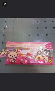 Rilakkuma 8 In 1 Pencil Case Set