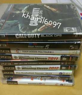 Ps3 Games 8CD Combo