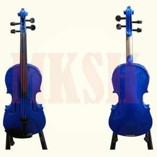 Mozart 4/4 Violin ( BLUE ) 5-piece Set
