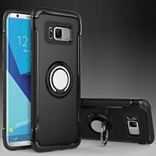 Magnetic 360 Armour Ring Case for Note 8