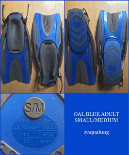 ‼️SALE‼️Authentic Aqualung Fins/Flippers