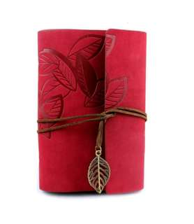 Exquisite Red Leaf#1 Journal Notebook