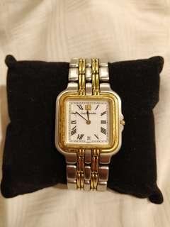 Guy Laroche Gold Stainless Steel Dress Watch