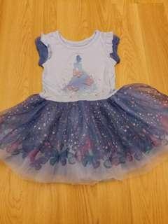 全新正版Disney Princess 女童連身裙 公主連身裙 合2至4歲 超靚