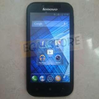 Handphone Lenovo A706 android hitam
