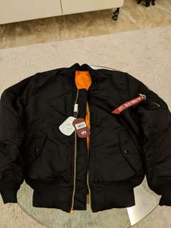 Alpha Industries MA-1 Bomber Jacket - Small  BRAND NEW