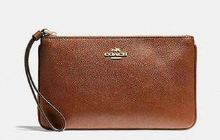 Coach Large Wristlet From US Php