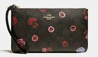 Coach Large Wristlet From US