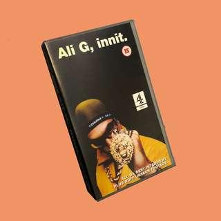 Vintage VHS 經典嘻哈飯片 Ali G Indahouse 錄影帶 饒舌 / 誰與爭瘋 /