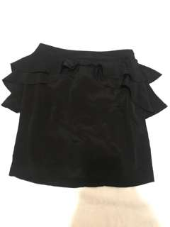 H&M Black Pencil Cut Skirt