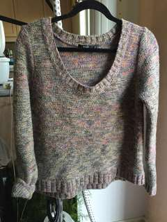Beautiful Knit Colourful sweater