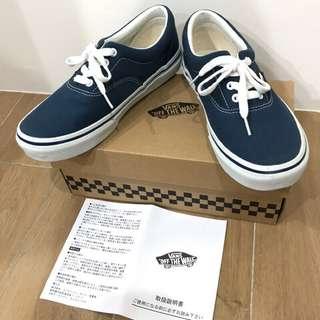 🚚 Vans Era Navy 23.5號 日本🇯🇵購入!