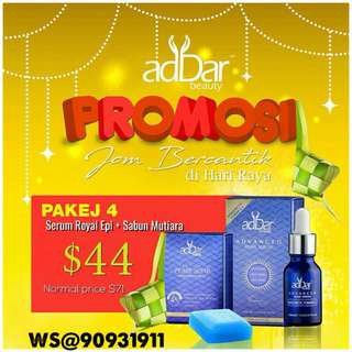 AdDar Pearl Soap & AdDar Serum