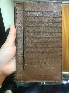 Auth tannery pure leather big wallet