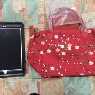 REPRICED Longchamp floral (small)