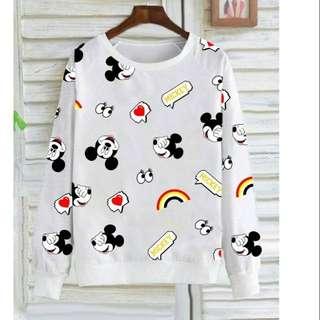 Sweater wanita - Mickey Mouse