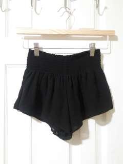 Forever 21 Silkly Black Shorts