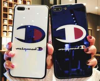 [PO] Champion Temper Glass Case for IPhones