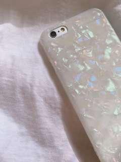 夢幻貝殼紋手機殼 iphone手機殼 軟殼