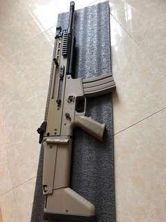 金屬Scar l 電動槍 99%新