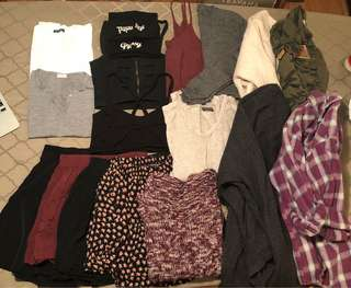 Brandy Melville closet clean out