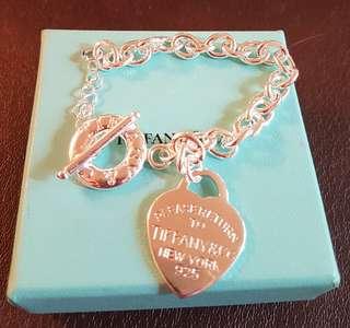 Tiffany Toggle Heart Bracelet