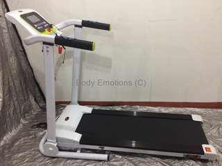 muscle power 1316a motorized treadmill