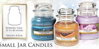 美國 Yankee candle small jar 104g [多種味道]