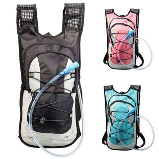2L Water Bag + 15L Hydration Backpack 6 Colors Outdoor Sport Waterproof