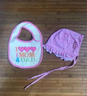 Baby Bib & Hat (Set)