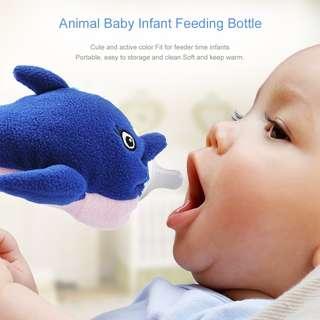 cartoon bottle feeding