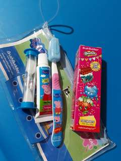 Peppa Pig Toothbrush Kit