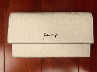 Kendall & Kylie White Clutch
