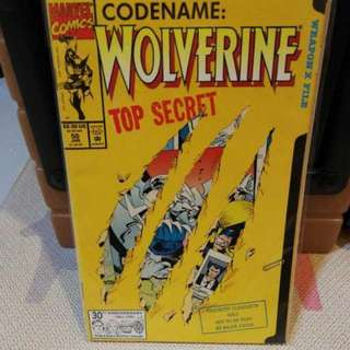 Marvel Comics Wolverine Issue 50