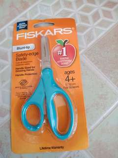 Fiskars Blunt Tip Ages 4+ 5in/12cm Kids Scissors